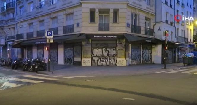 Fransa'da 16 bölgede uygulanacak 4 haftalık sokağa çıkma yasağı başladı