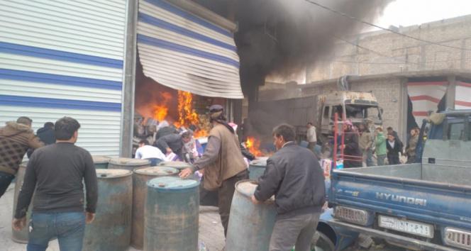 El Bab'da patlama: 1 kişi hayatını kaybetti, 6 yaralı