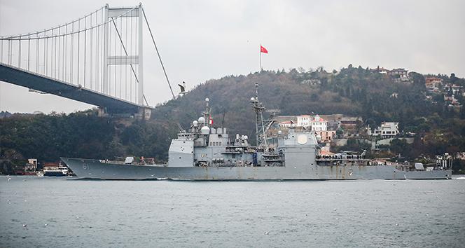 Rusya, Karadeniz'e giren ABD savaş gemisini yakın takibe aldı